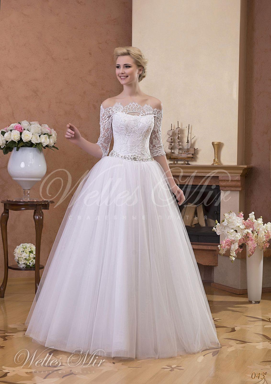 Свадебные платья Gentle Rose - 043