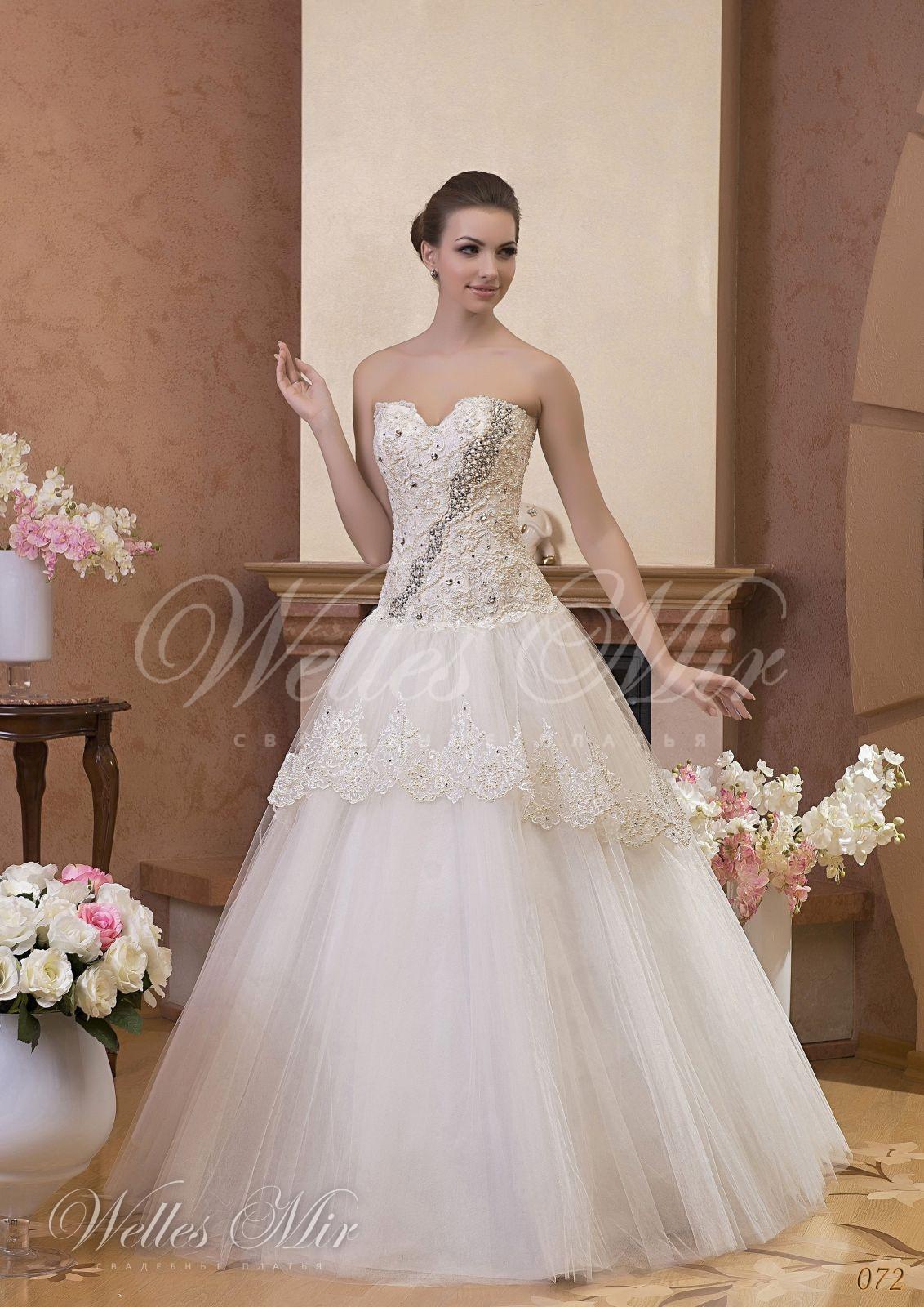 Свадебные платья Gentle Rose - 072