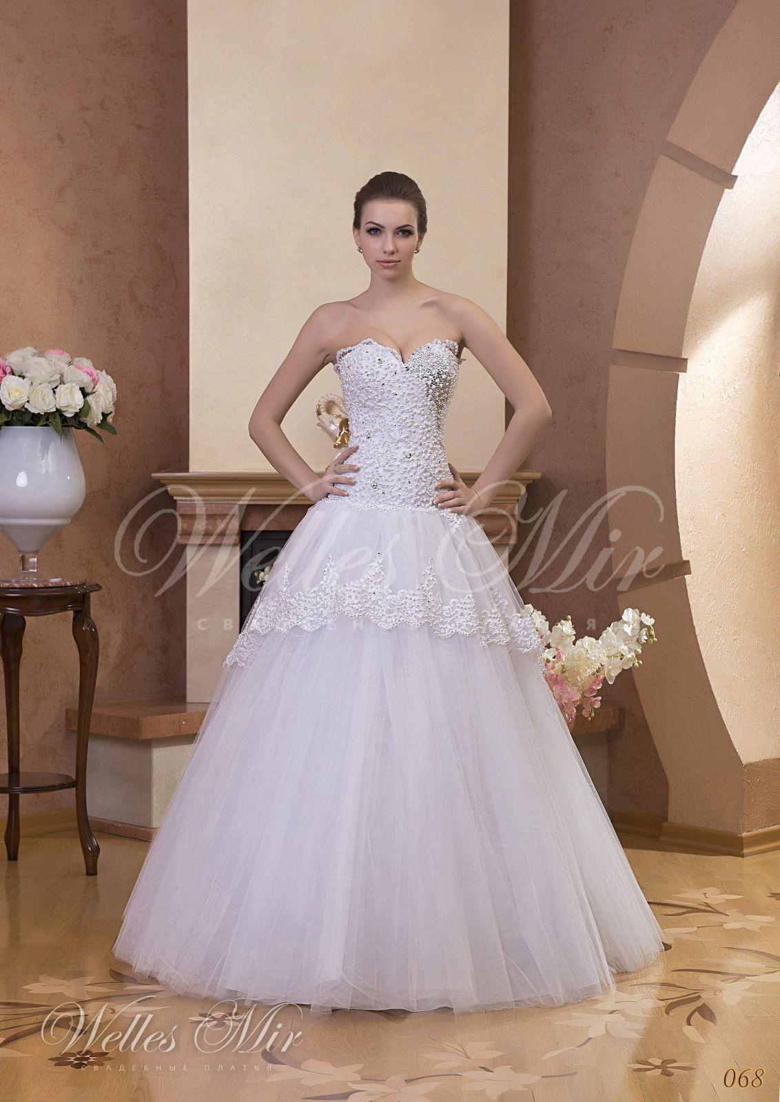 Свадебные платья Gentle Rose - 068