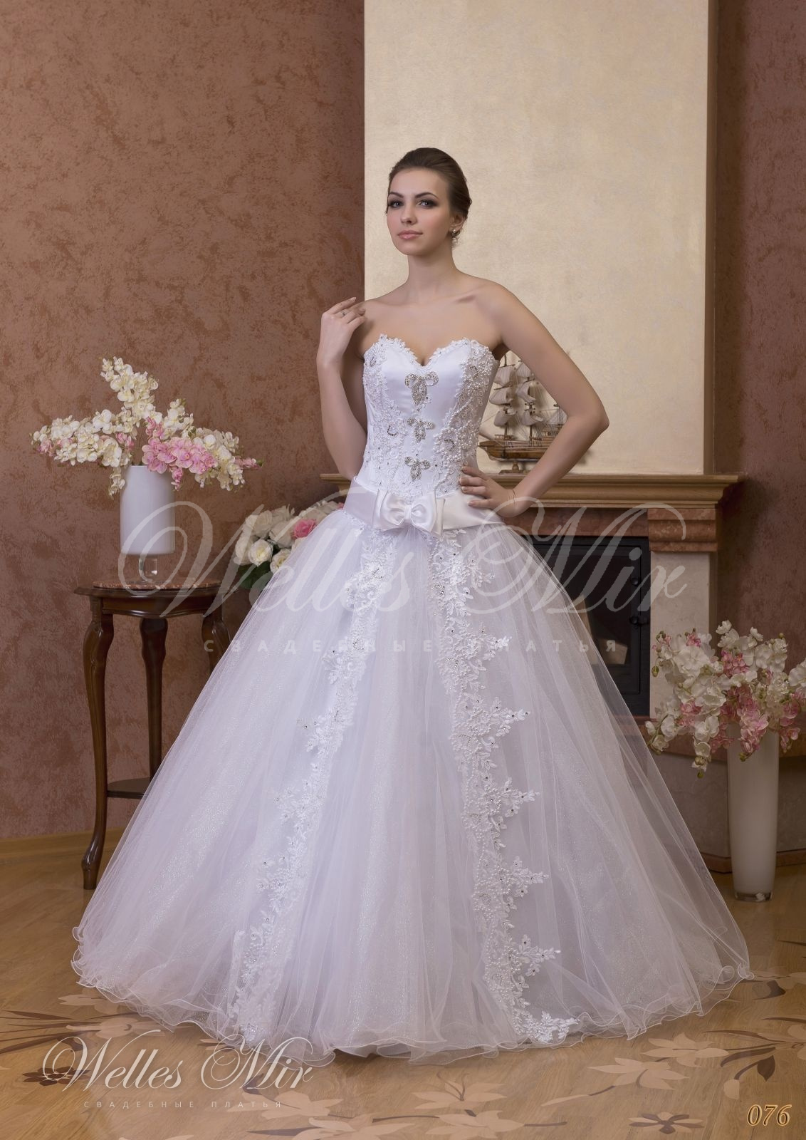 Wedding dresses Gentle Rose - 076