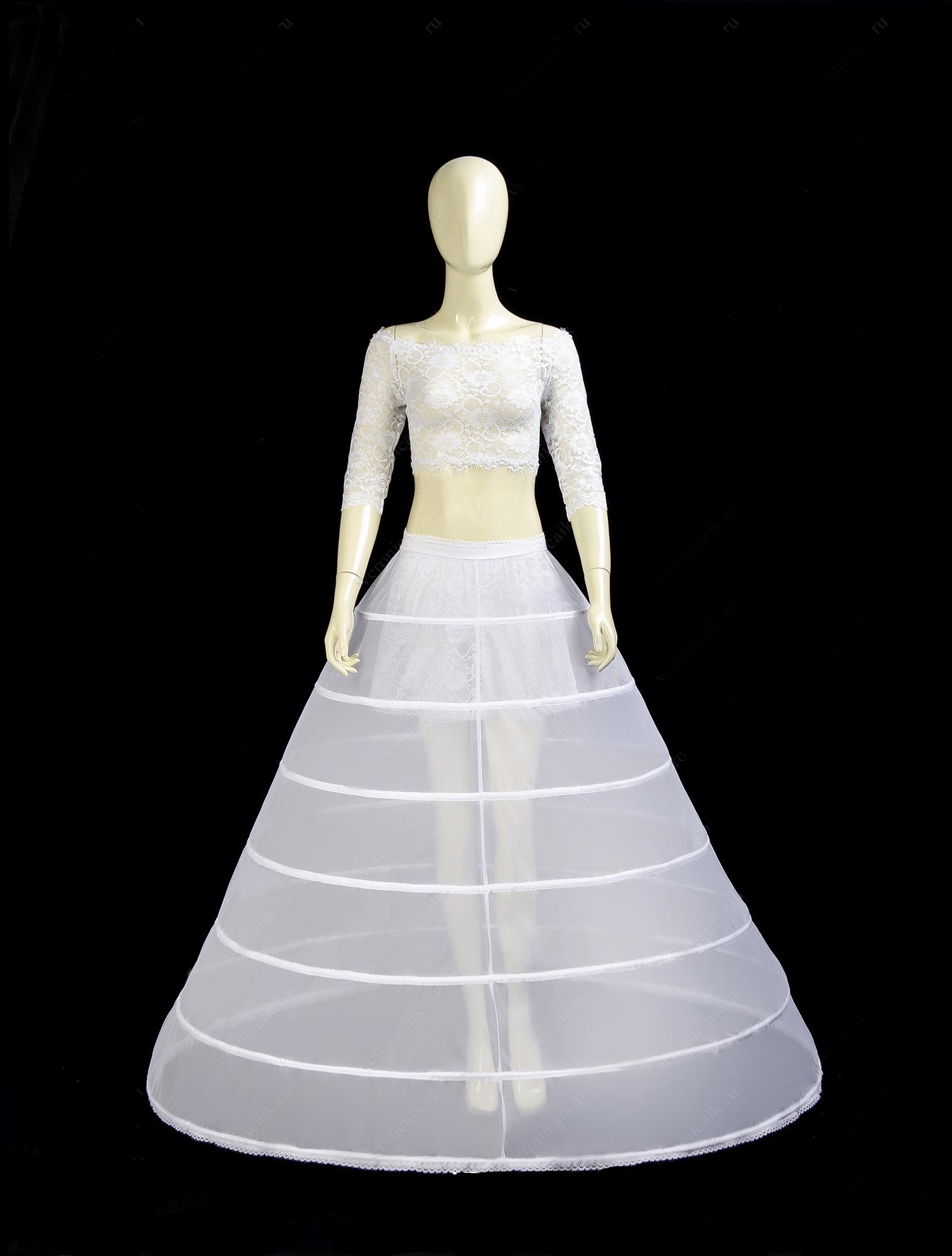 где купить подъюбник с кольцами для свадебного платья
