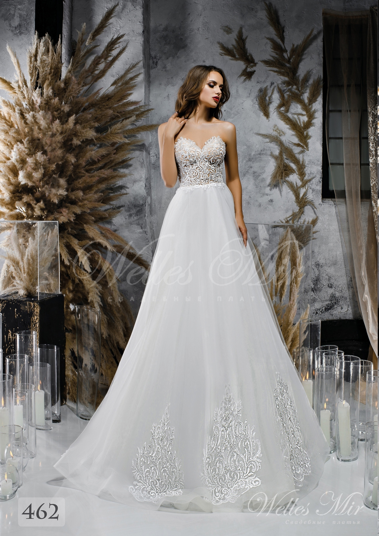 Свадебные платья Unique Perfection 2018 - 462