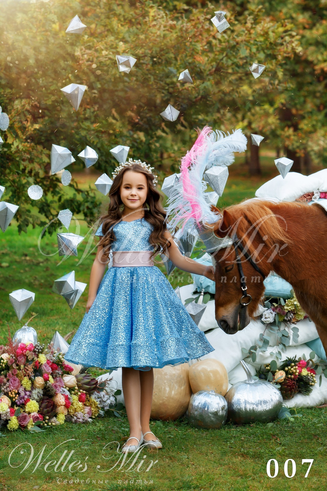 Детские платья Kids Deluxe Collection 2018 - 007