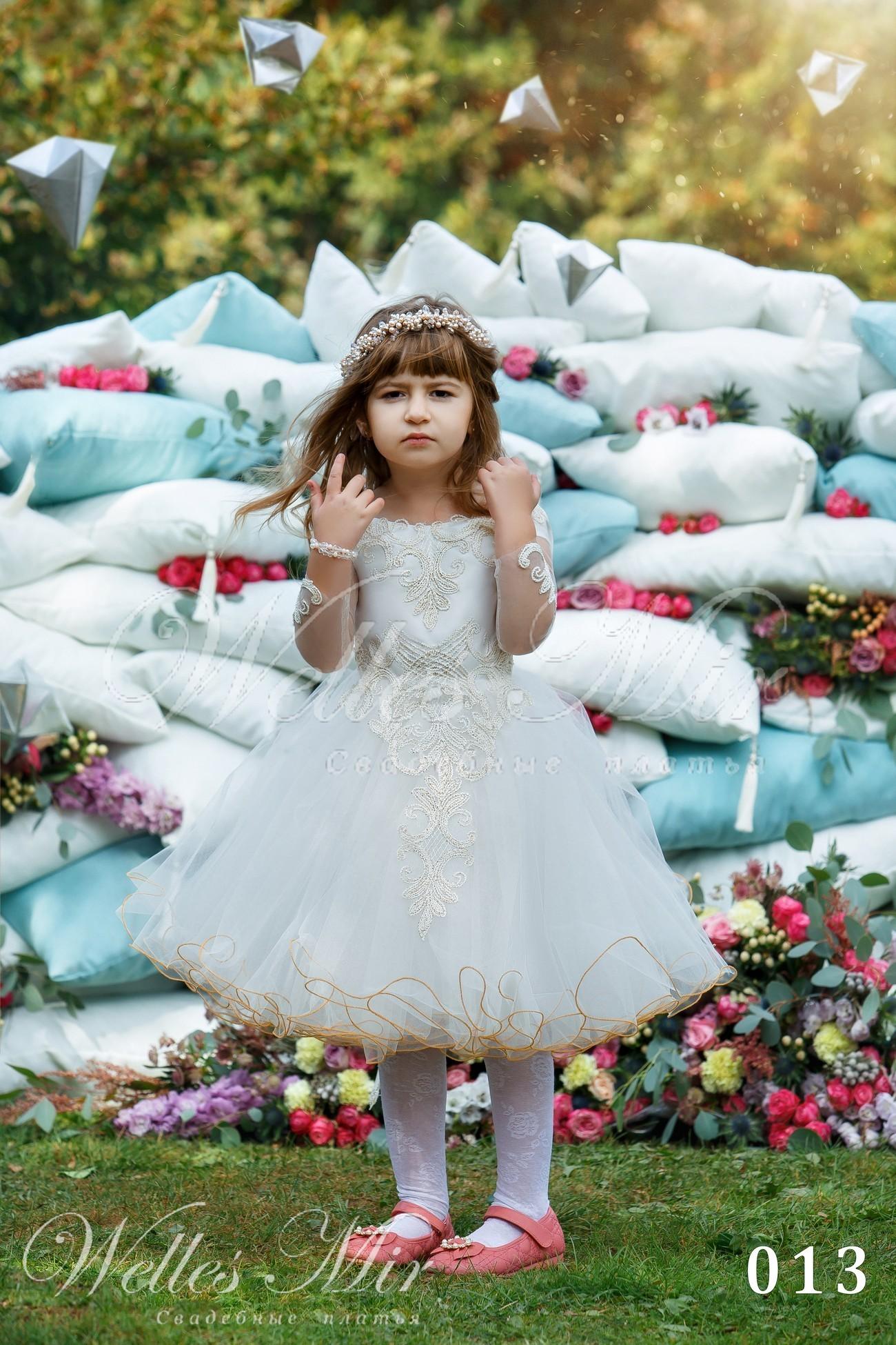 Детские платья Kids Deluxe Collection 2018 - 013