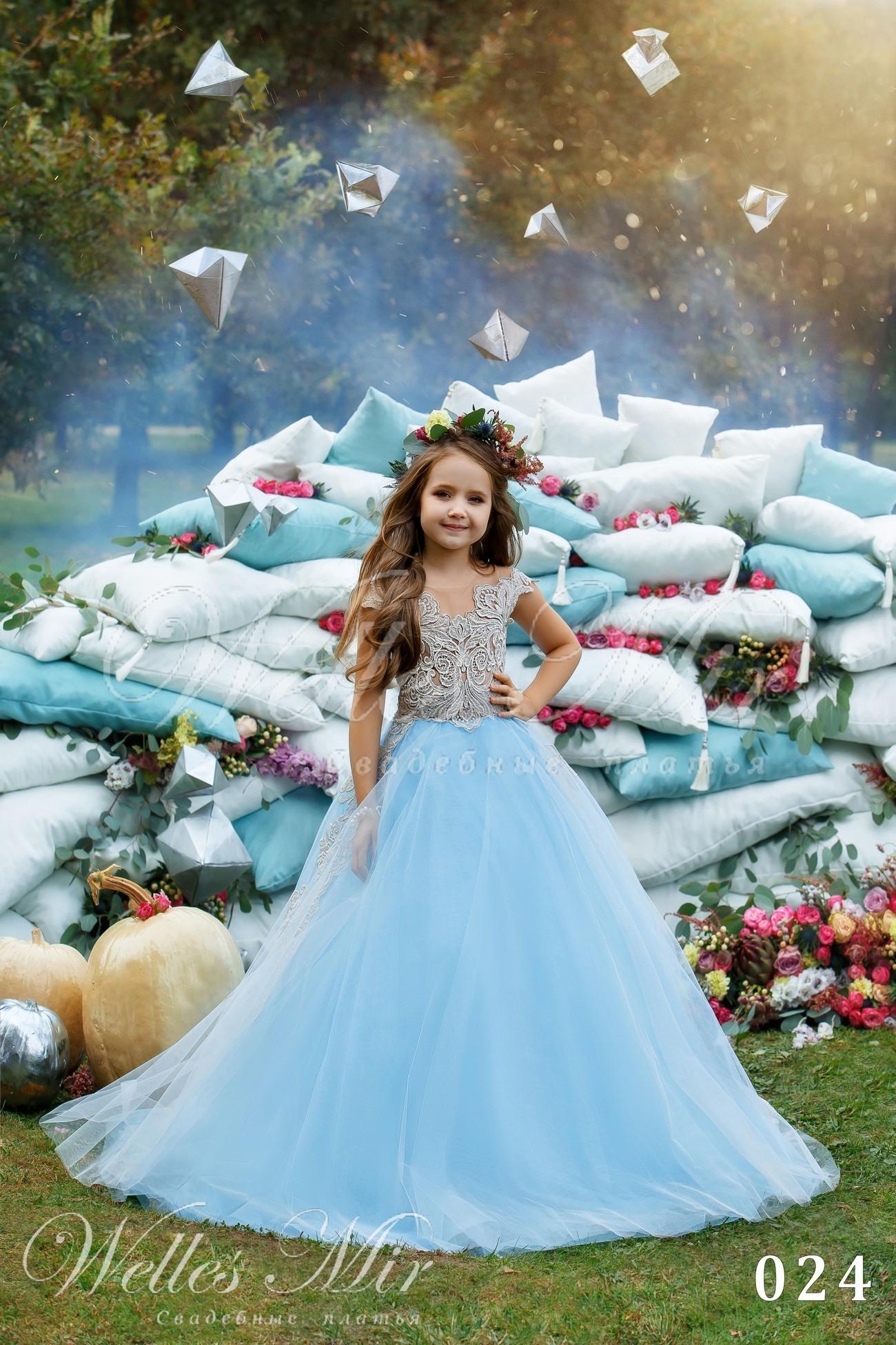 Детские платья Kids Deluxe Collection 2018 - 024