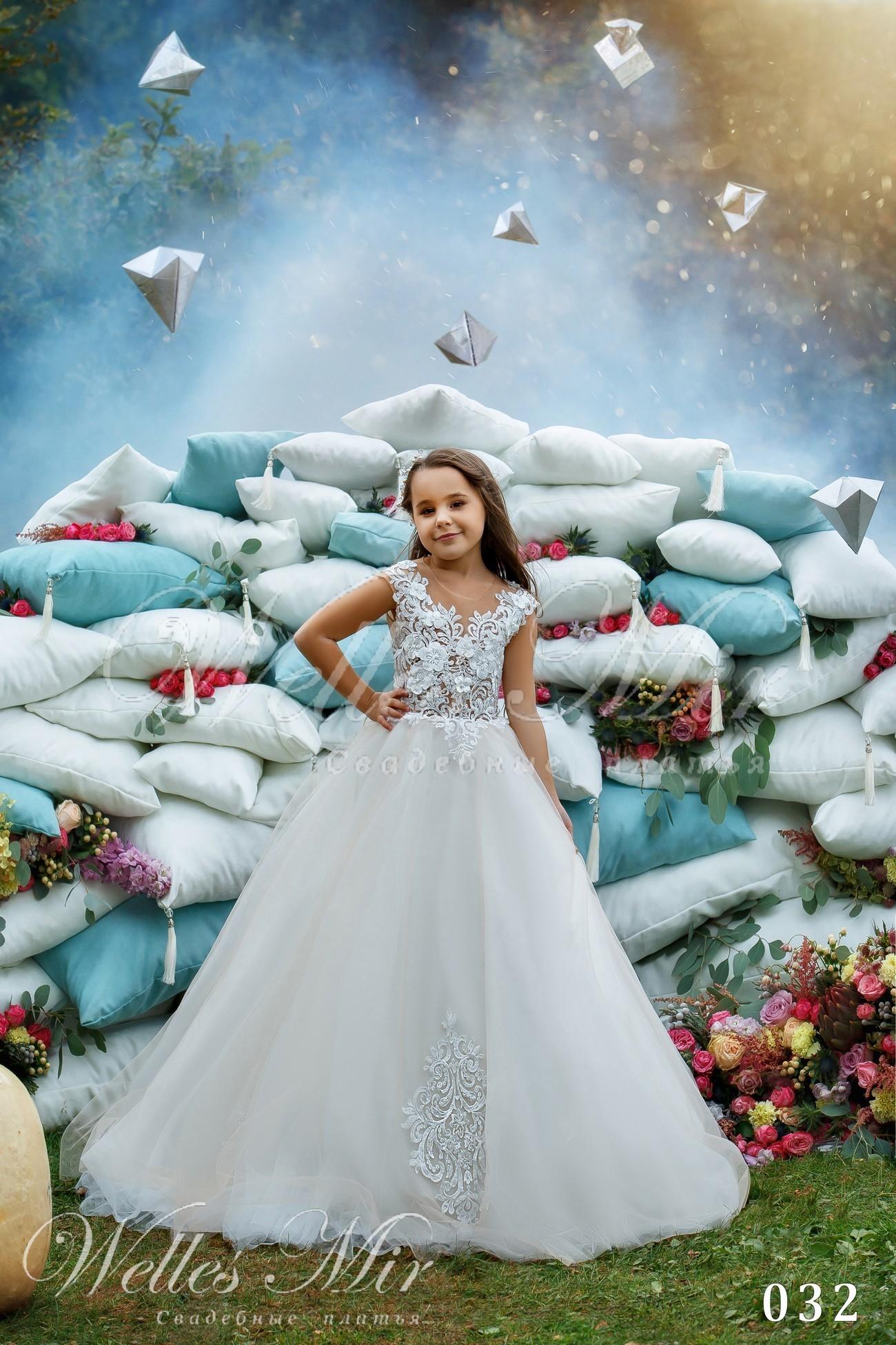 Детские платья Kids Deluxe Collection 2018 - 032