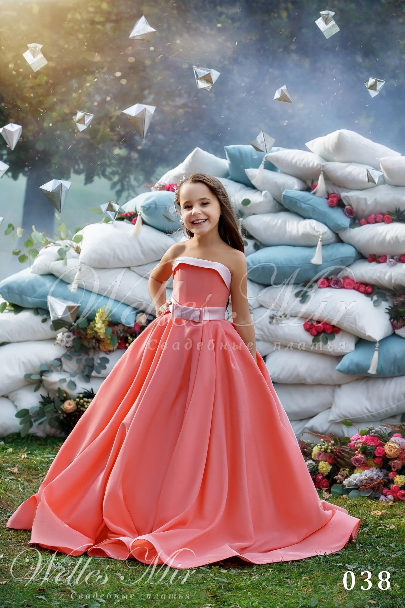 Детские платья Kids Deluxe Collection 2018 - 038