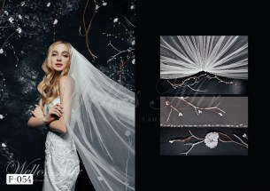 Фаты Shine Veils 2019 F-054-1