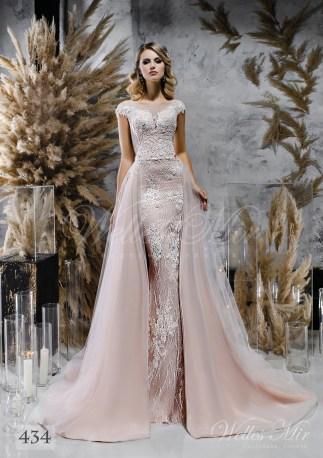 Кружевное свадебное платье-трансформер оптом-1