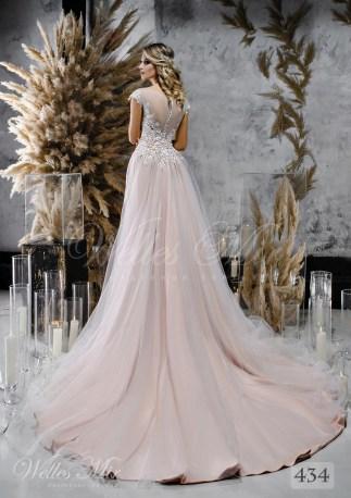 Кружевное свадебное платье-трансформер оптом-2