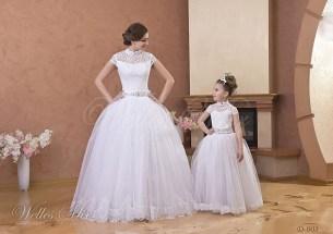 Свадебное детское платье-3