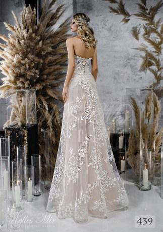 Cвадебное платье-бюстье оптом-2