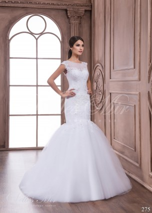 Fishtail wedding dress-1