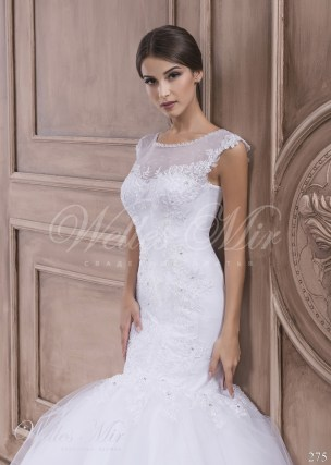 Fishtail wedding dress-2