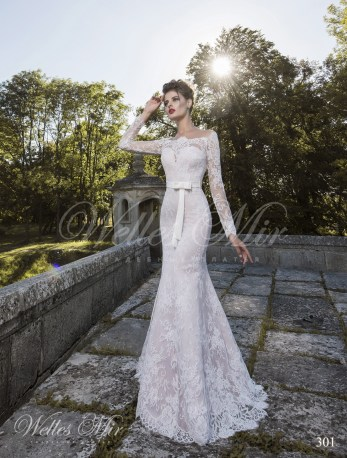 A-line silhouette wedding dress-1