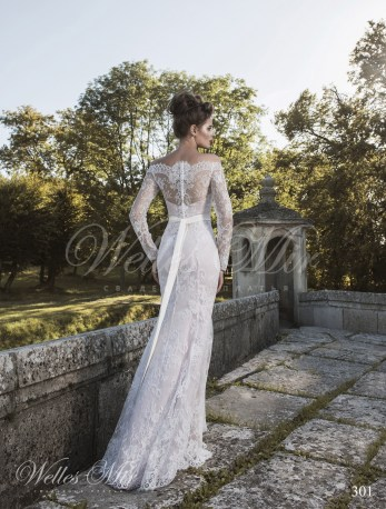 A-line silhouette wedding dress-3