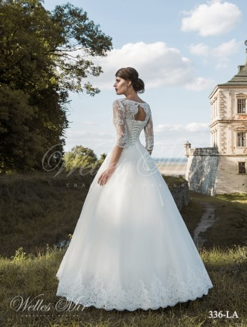 Свадебное платье модели «Принцесса»-3