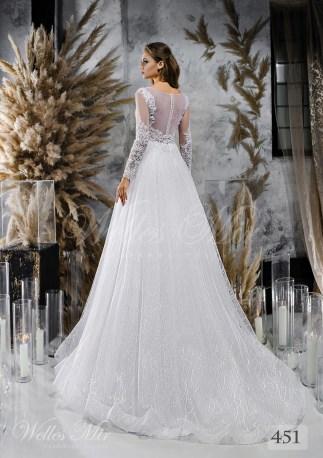 Свадебные платья с фактурной юбкой оптом от Wellesmir-2
