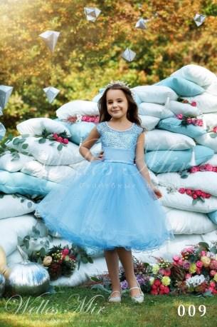 Детские платья Kids Deluxe Collection 2018 009-1