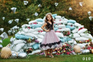 Детские платья Kids Deluxe Collection 2018 010-2