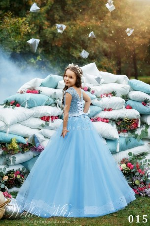 Детские платья Kids Deluxe Collection 2018 015-1