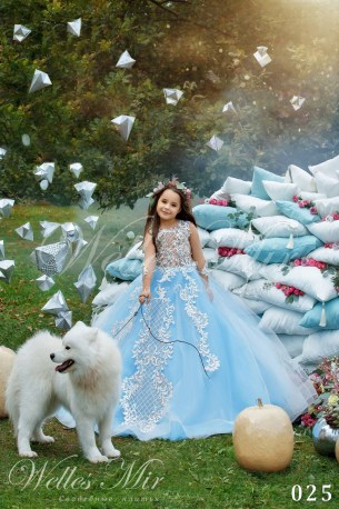 Дитячі сукні Kids Deluxe Collection 2018 025-1