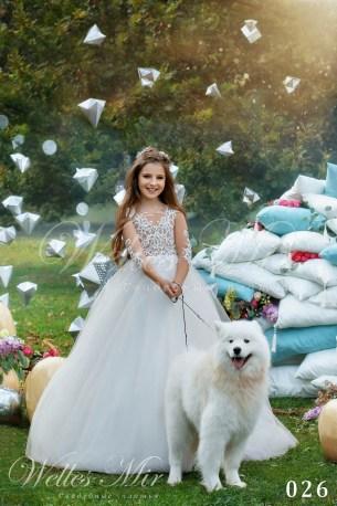 Детские платья Kids Deluxe Collection 2018 026-1