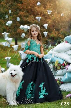 Детские платья Kids Deluxe Collection 2018 029-1