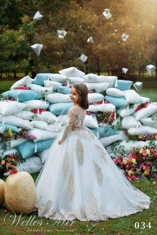 Детские платья Kids Deluxe Collection 2018 034-2