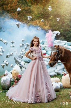 Дитячі сукні Kids Deluxe Collection 2018 035-1