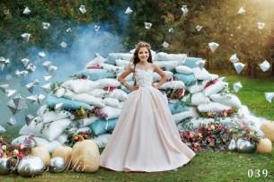 Детские платья Kids Deluxe Collection 2018 039-2