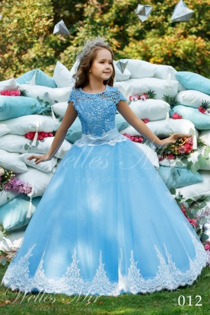 Детские платья Kids Deluxe Collection 2018 012-1