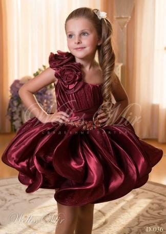Детские платья Детские платья 2015 D-036-2