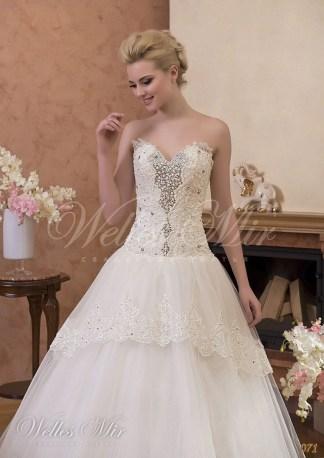 Свадебные платья Gentle Rose 071-2