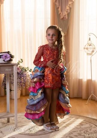 Детские платья Детские платья 2015 D-035-1