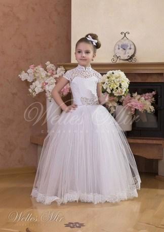 Свадебное детское платье-1