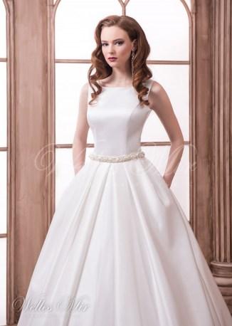 Rochie de mireasa netedă-2