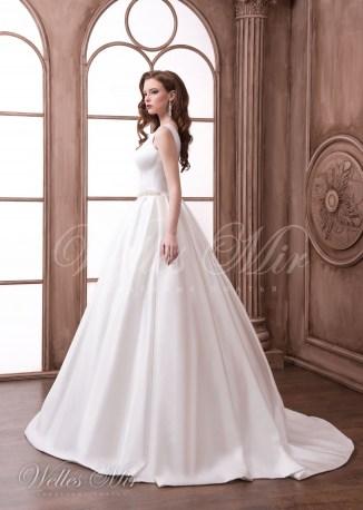 Smooth wedding dress-3