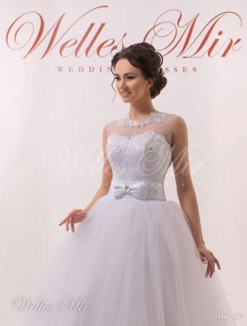 Свадебное платье с бантом-2