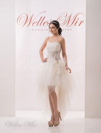 Cвадебное платье маллет-1