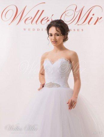Свадебное платье с вырезом сердечко-2