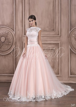 Pink wedding dress 247