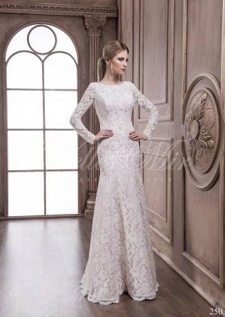 Кружевное свадебное платье-1