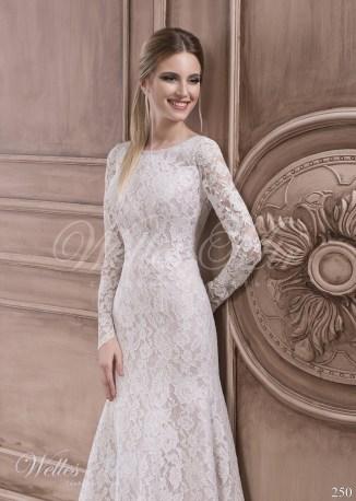 Кружевное свадебное платье-2