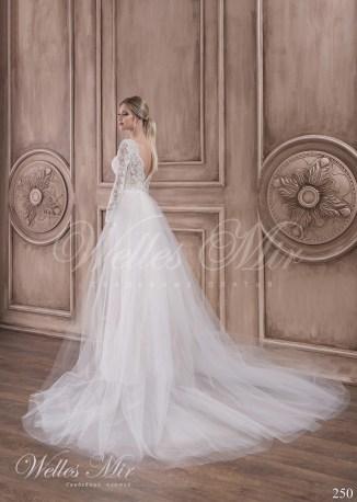 Кружевное свадебное платье-4