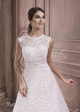 Cвадебное платье А силуэт-2