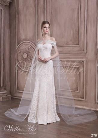Свадебное платье с кейпом-1