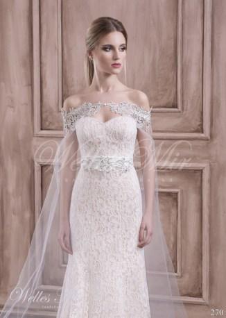 Свадебное платье с кейпом-2