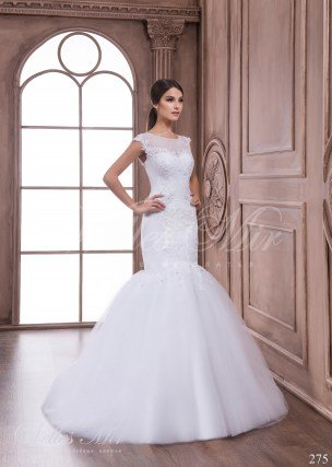 Fishtail wedding dress 275
