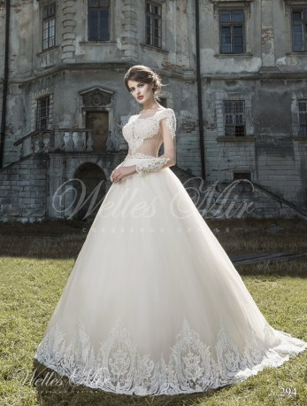 Ball wedding gown-2